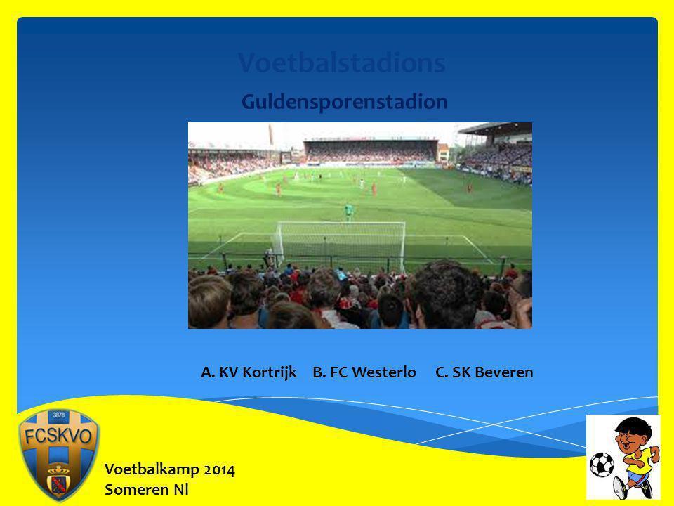 Voetbalstadions Guldensporenstadion