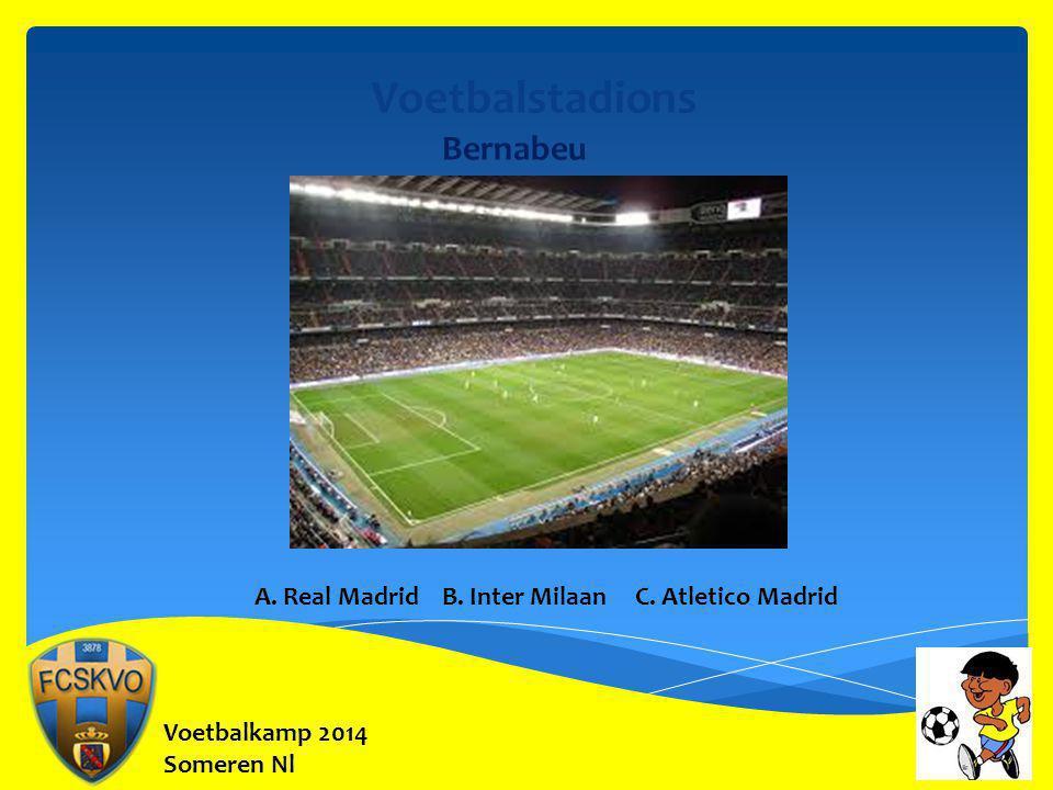 Voetbalstadions Bernabeu