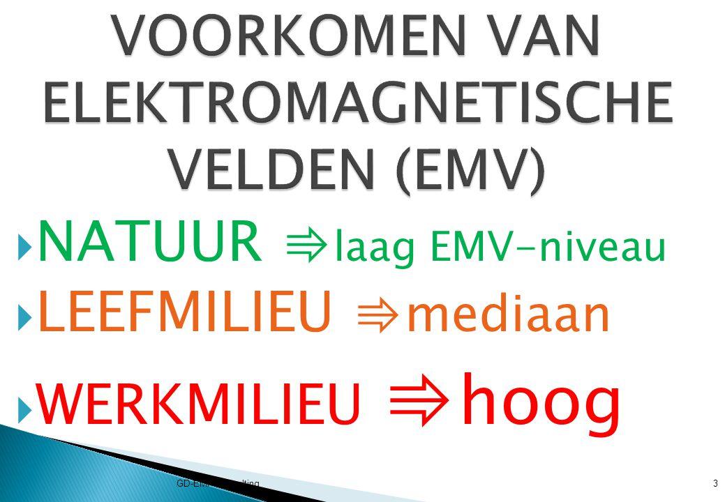 VOORKOMEN VAN ELEKTROMAGNETISCHE VELDEN (EMV)