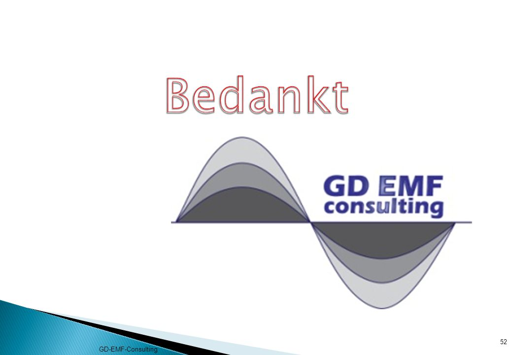 Bedankt GD-EMF-Consulting
