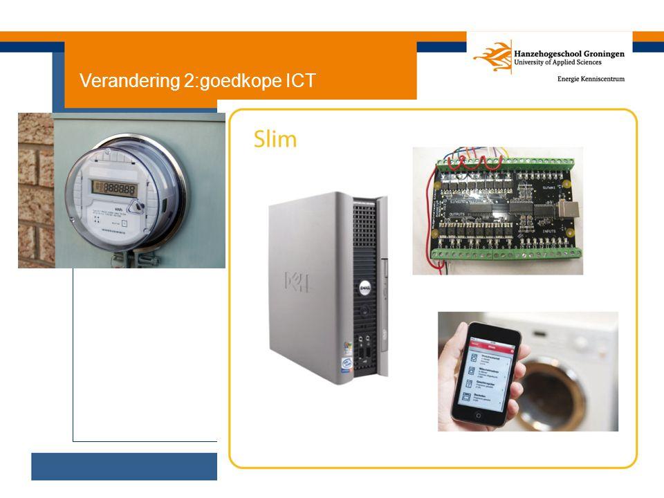 Verandering 2:goedkope ICT