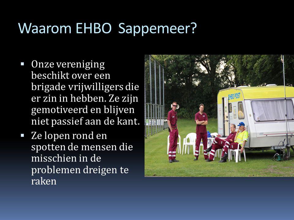 Waarom EHBO Sappemeer