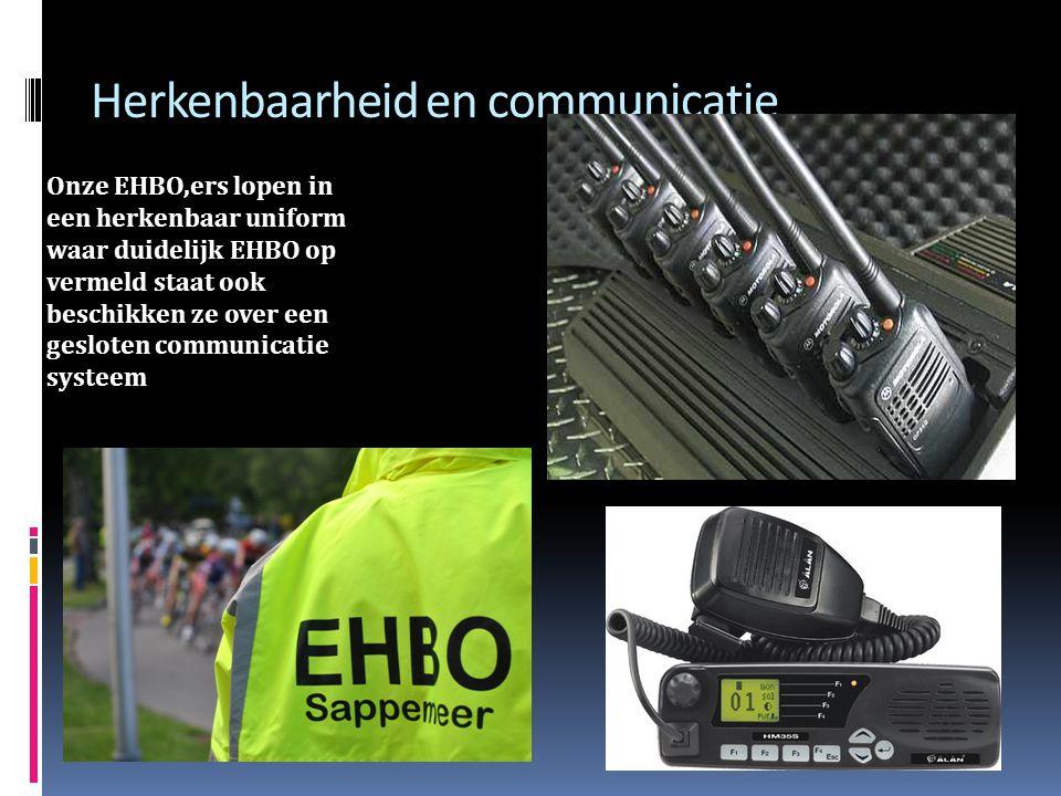 Herkenbaarheid en communicatie