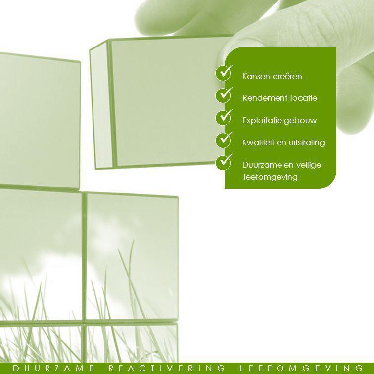 Kwaliteit en uitstraling Duurzame en veilige