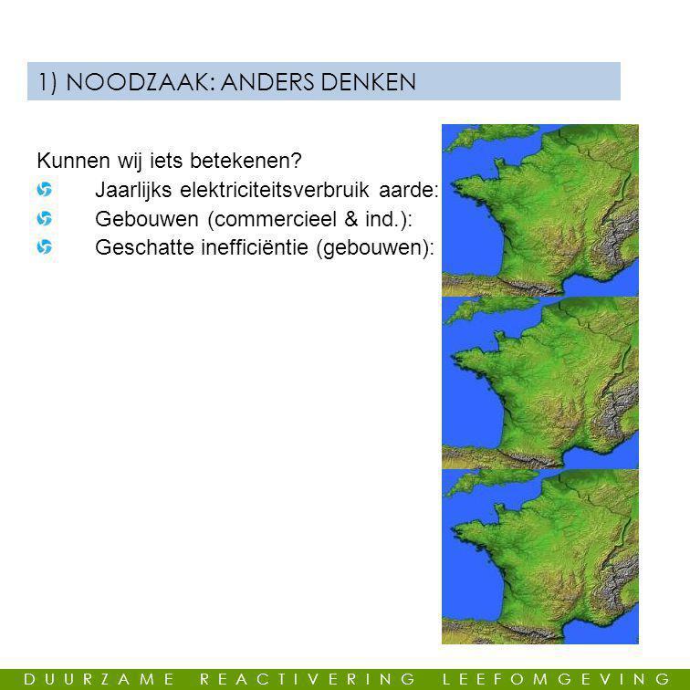 1) NOODZAAK: ANDERS DENKEN