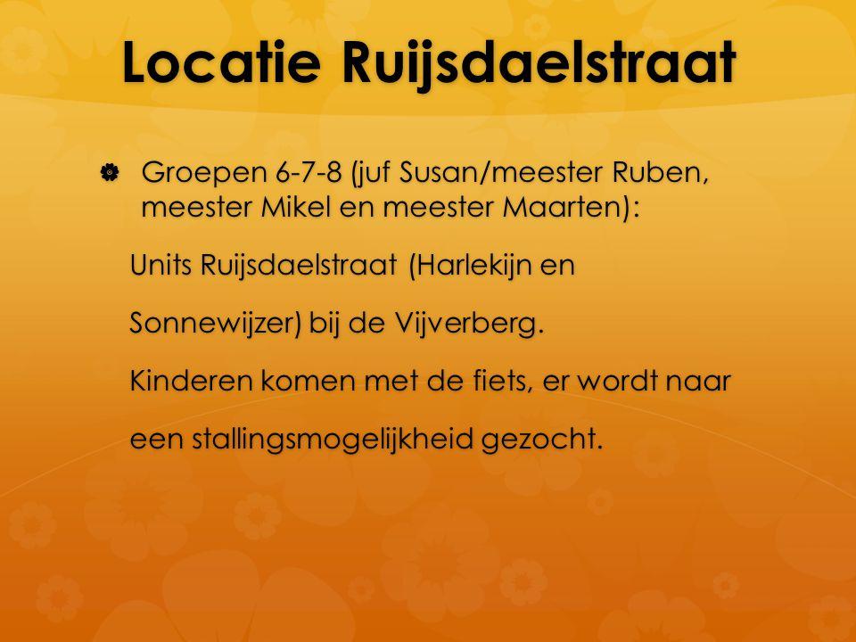 Locatie Ruijsdaelstraat