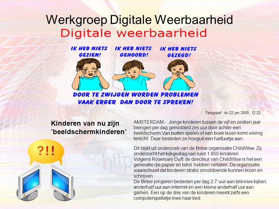 Werkgroep Digitale Weerbaarheid