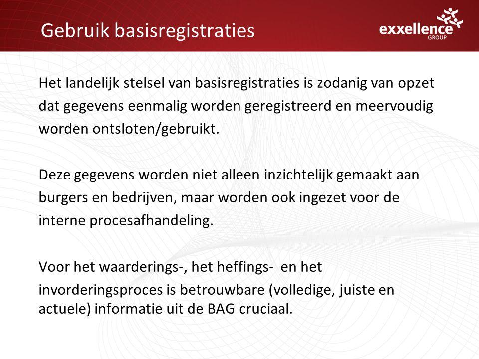Gebruik basisregistraties
