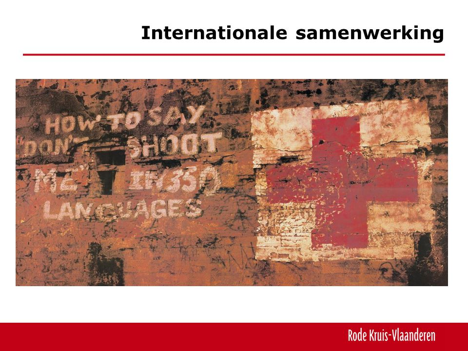 Internationale samenwerking
