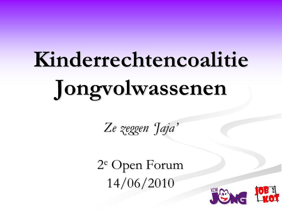 Kinderrechtencoalitie Jongvolwassenen