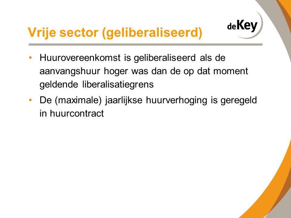 Vrije sector (geliberaliseerd)
