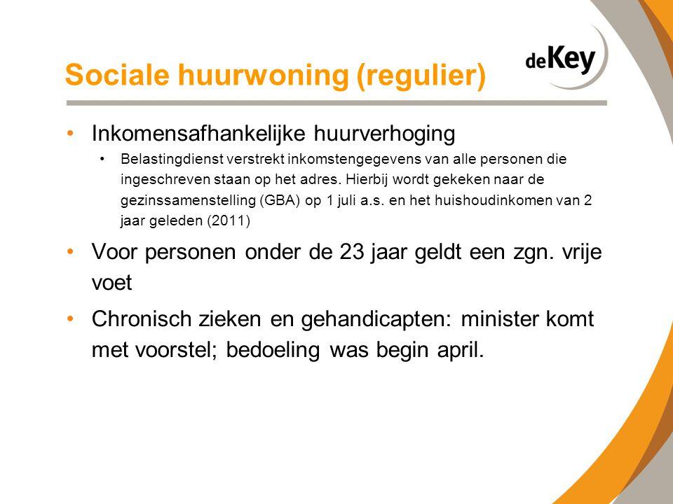 Sociale huurwoning (regulier)