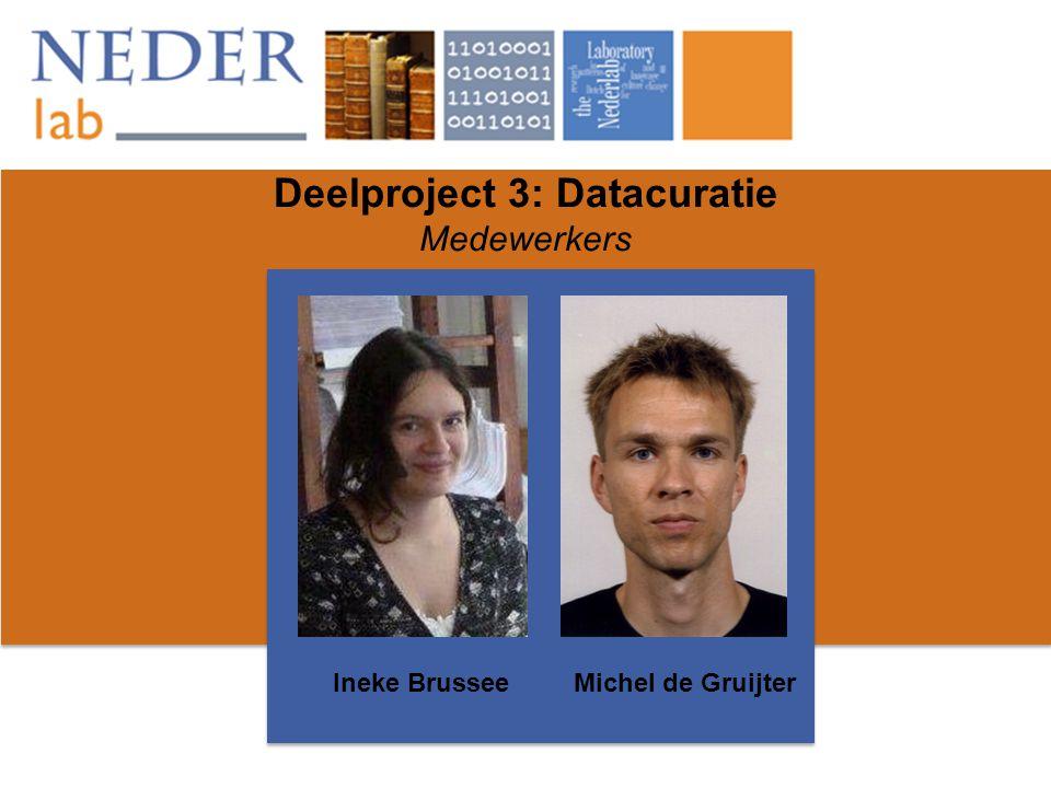 Deelproject 3: Datacuratie Medewerkers