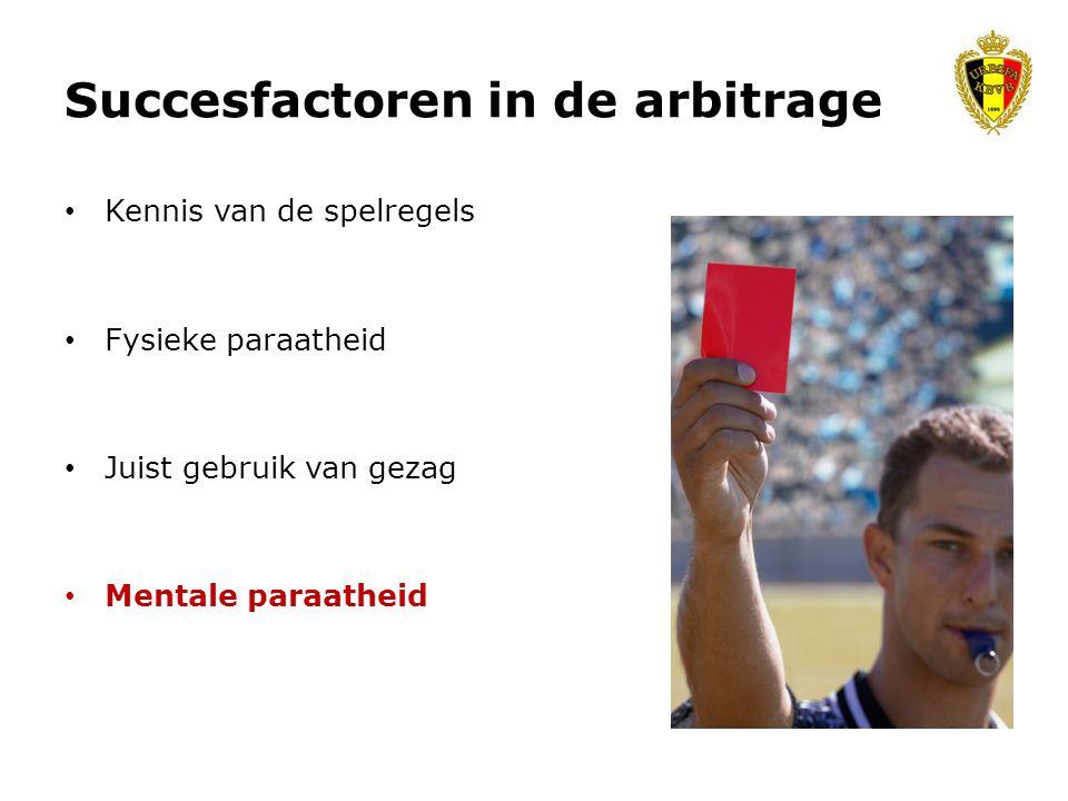 Succesfactoren in de arbitrage