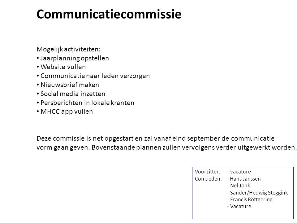 Communicatiecommissie