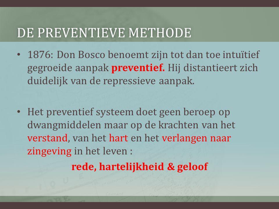 De preventieve methode