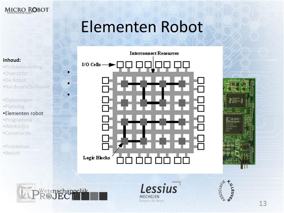 Elementen Robot FPGA Xilinx Spartan 3E