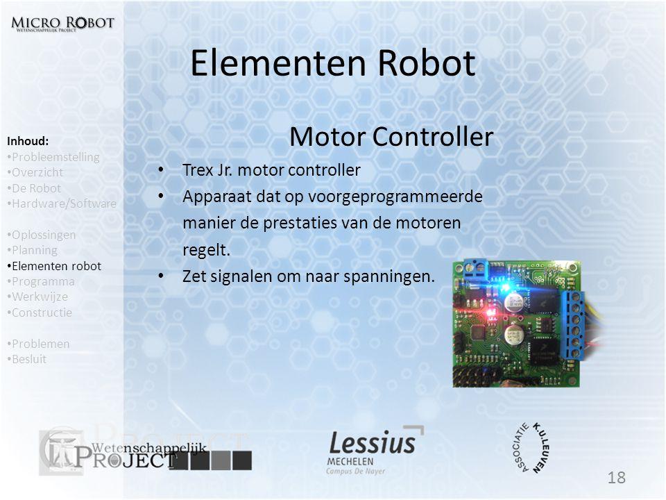 Elementen Robot Motor Controller Trex Jr. motor controller