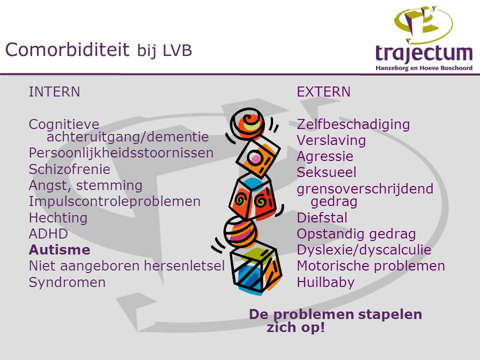 Comorbiditeit bij LVB INTERN Cognitieve achteruitgang/dementie