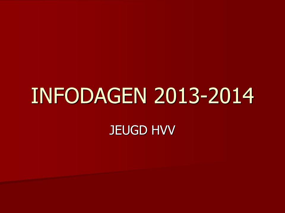 INFODAGEN 2013-2014 JEUGD HVV