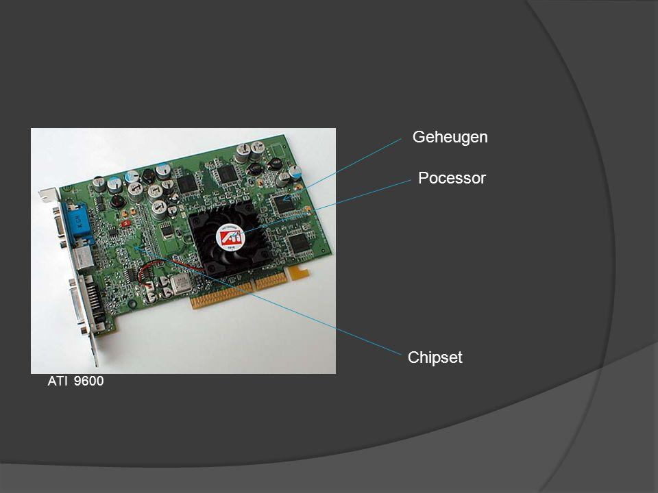 Geheugen Pocessor Chipset ATI 9600