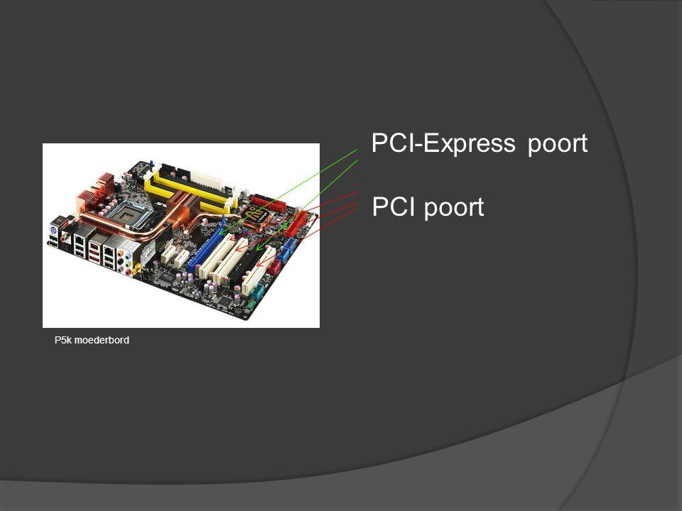 PCI-Express poort PCI poort
