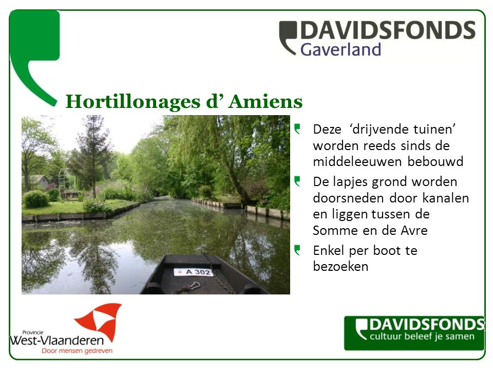 Hortillonages d' Amiens