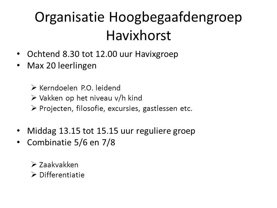 Organisatie Hoogbegaafdengroep Havixhorst
