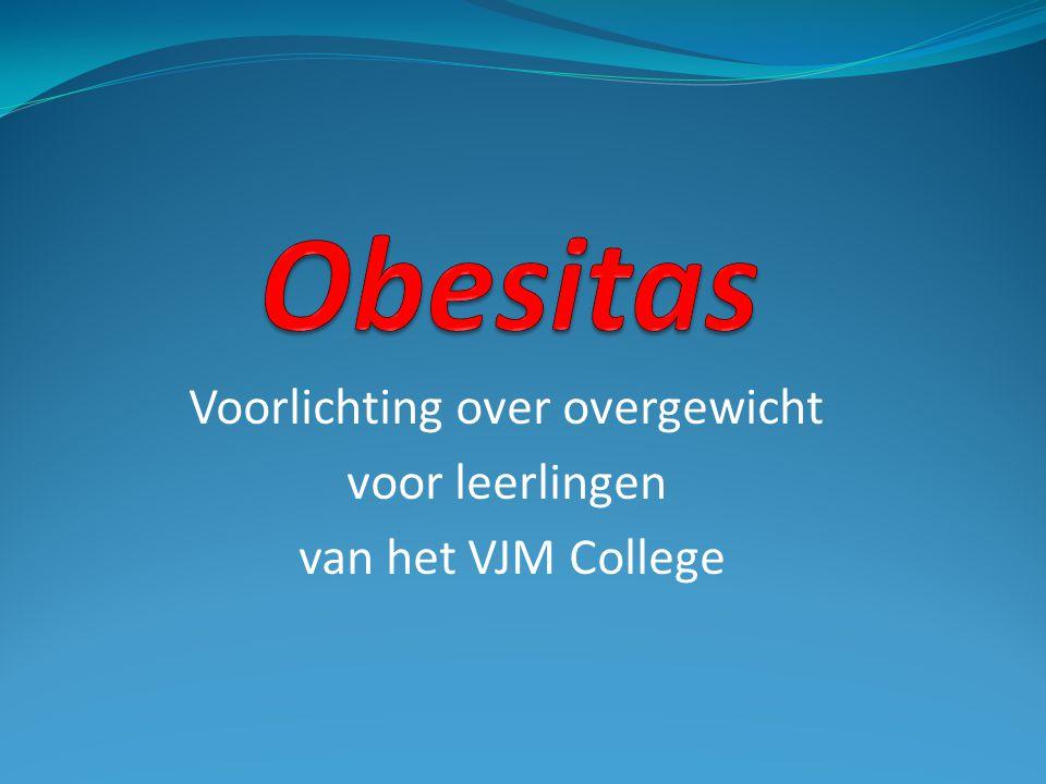 Voorlichting over overgewicht voor leerlingen van het VJM College