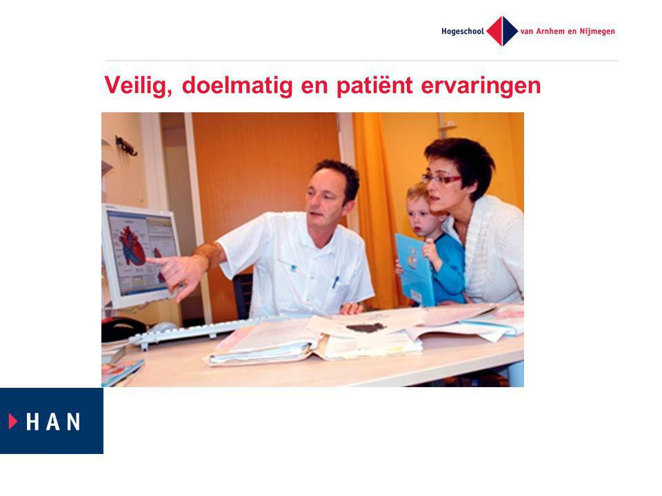 Veilig, doelmatig en patiënt ervaringen