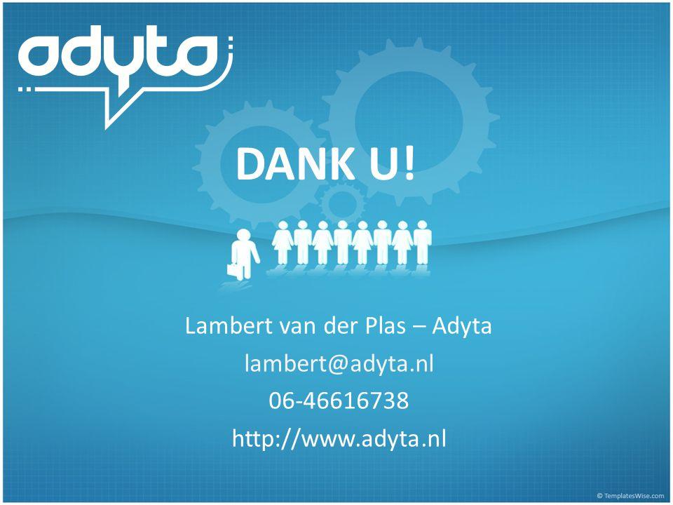 Lambert van der Plas – Adyta