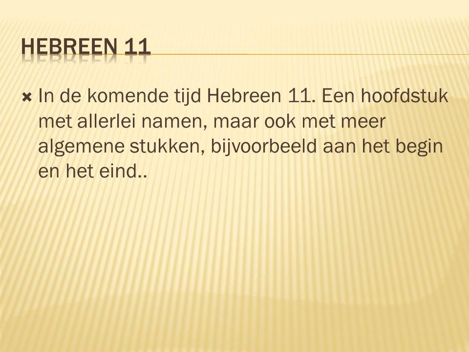 Hebreen 11