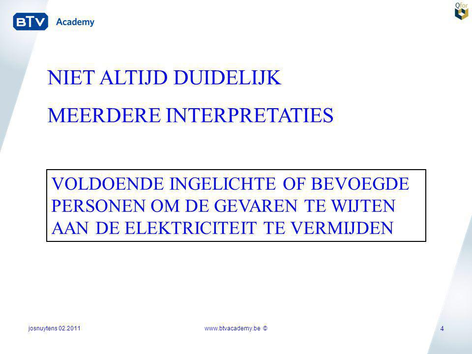 MEERDERE INTERPRETATIES