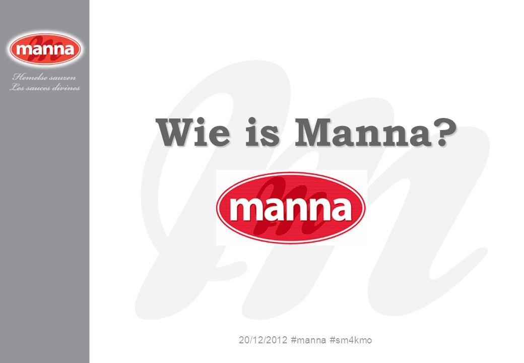Wie is Manna 20/12/2012 #manna #sm4kmo