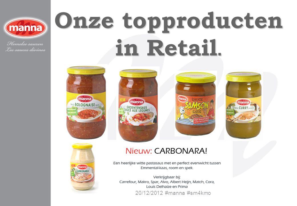 Onze topproducten in Retail.