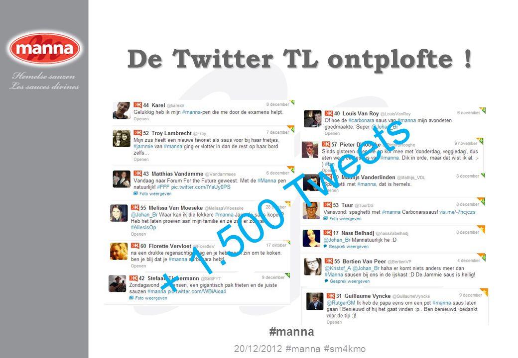De Twitter TL ontplofte !