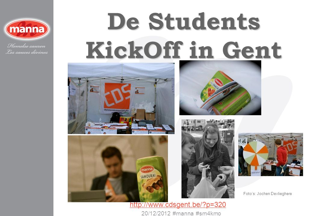 De Students KickOff in Gent