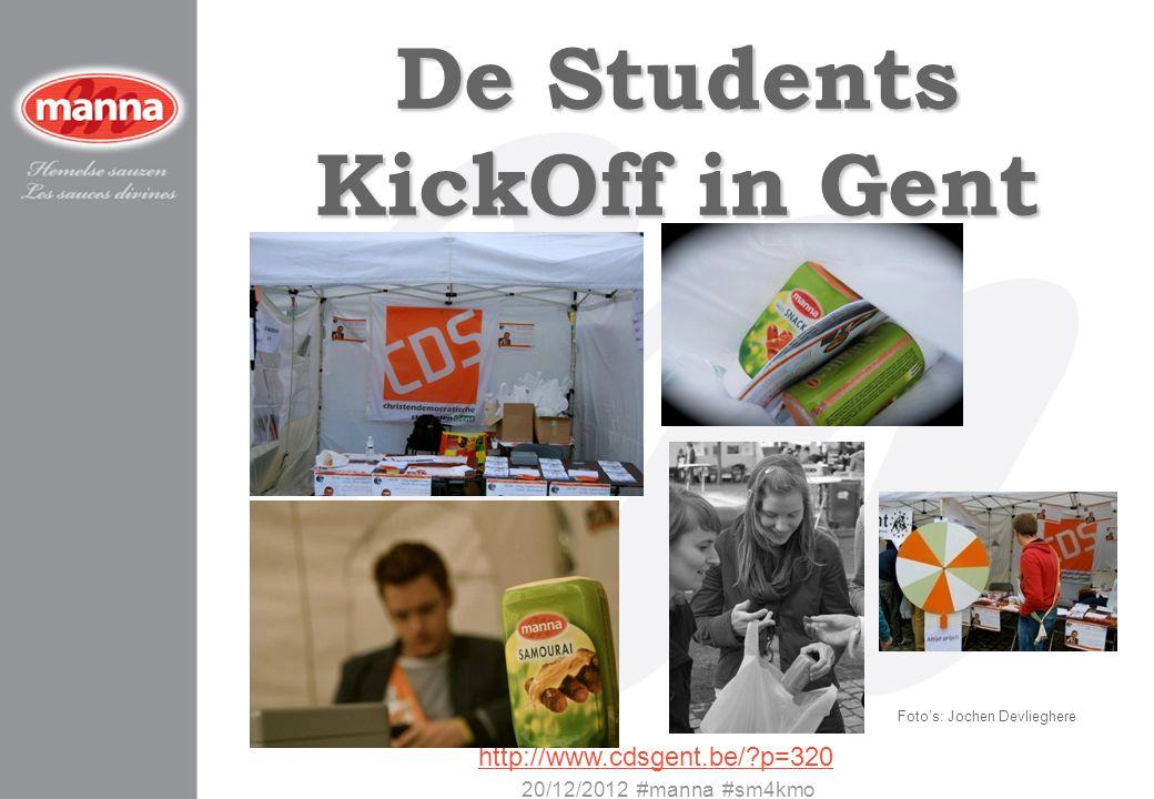 De Students KickOff in Gent