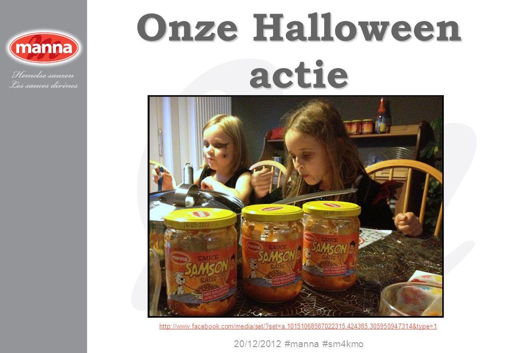 Onze Halloween actie 20/12/2012 #manna #sm4kmo