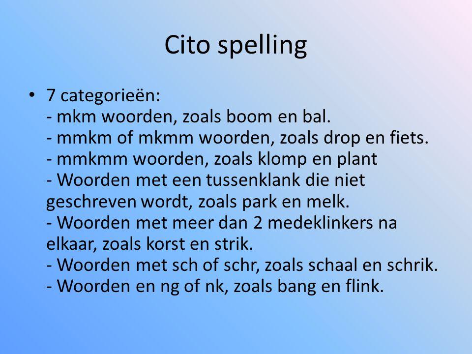 Cito spelling
