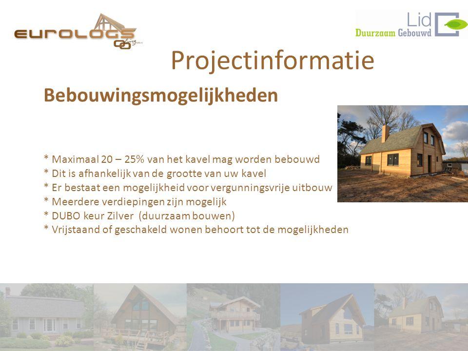 Projectinformatie Bebouwingsmogelijkheden