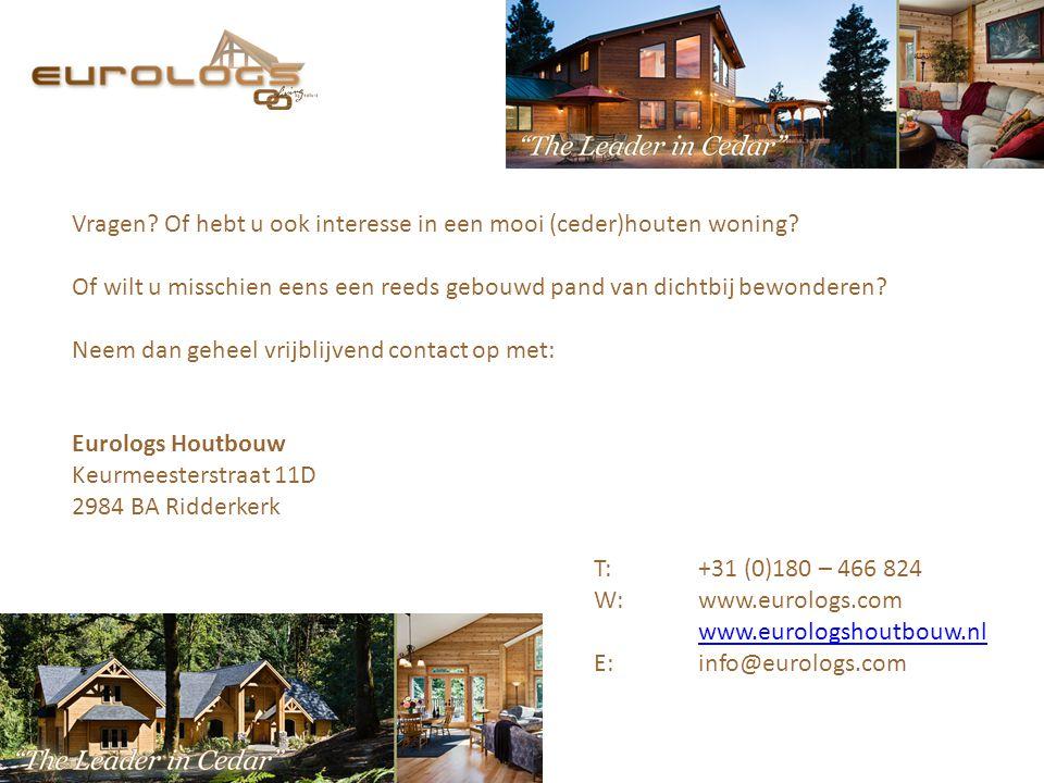 Vragen Of hebt u ook interesse in een mooi (ceder)houten woning