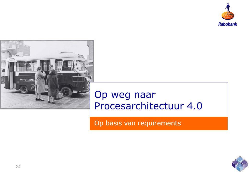 Op weg naar Procesarchitectuur 4.0