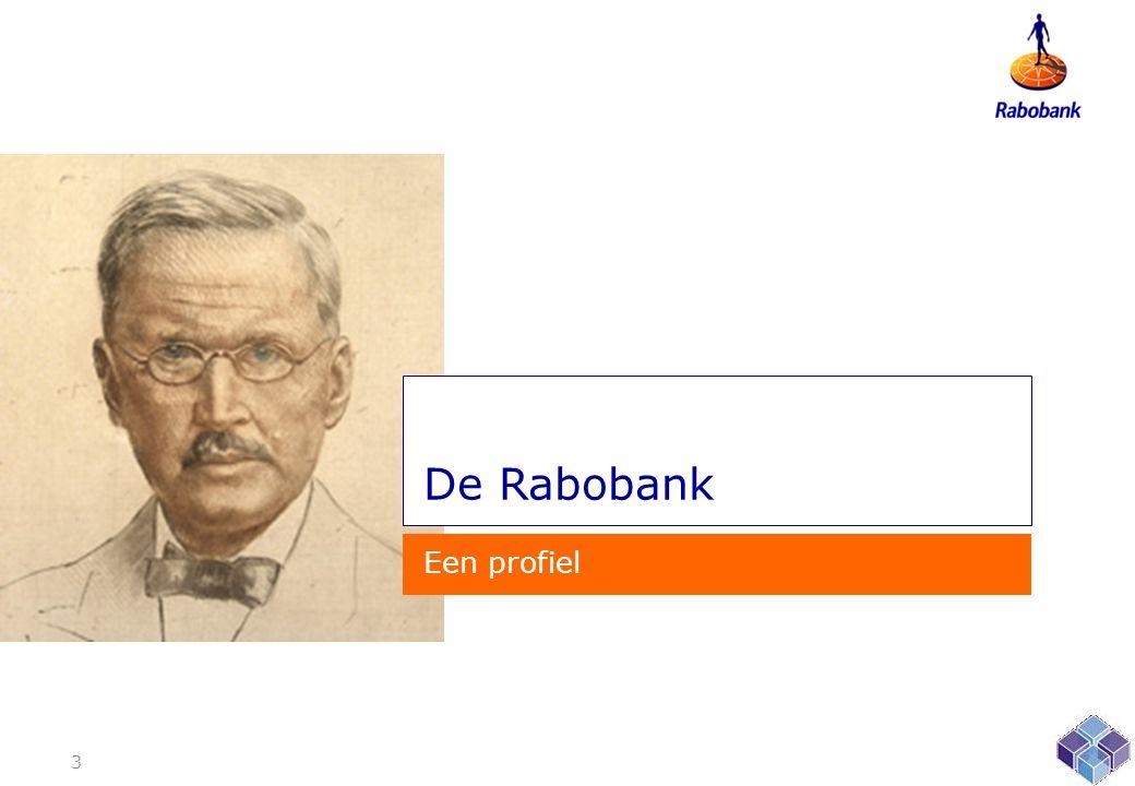 De Rabobank Een profiel