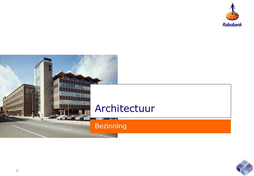 Architectuur Bezinning