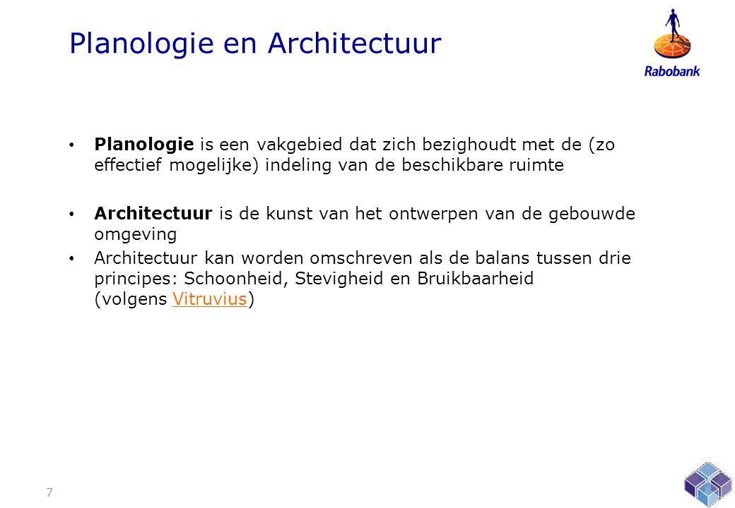 Planologie en Architectuur