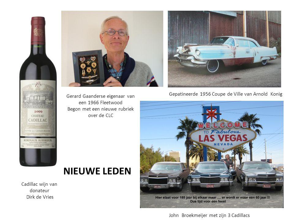 NIEUWE LEDEN Gepatineerde 1956 Coupe de Ville van Arnold Konig