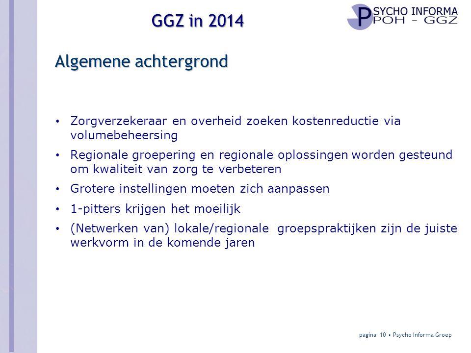 Algemene achtergrond Zorgverzekeraar en overheid zoeken kostenreductie via volumebeheersing.