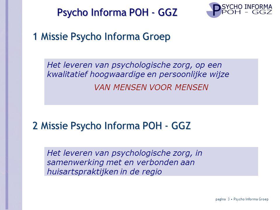 1 Missie Psycho Informa Groep