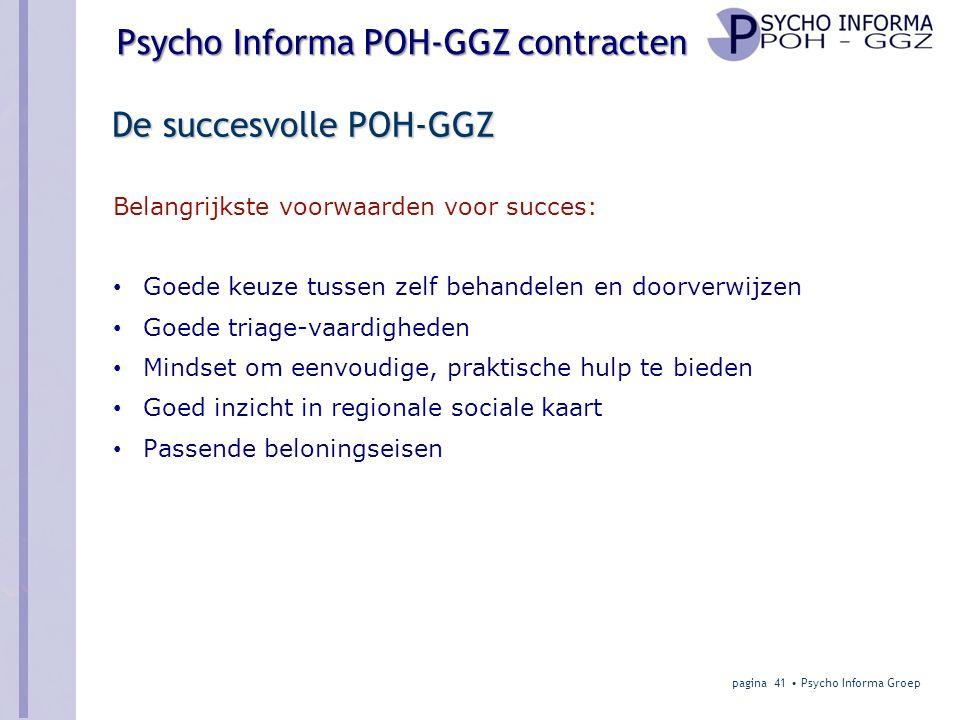 De succesvolle POH-GGZ